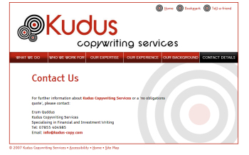Kudus Copywriting Services