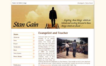 Personal website of Stan Gain