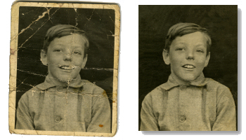 samples photo restoration