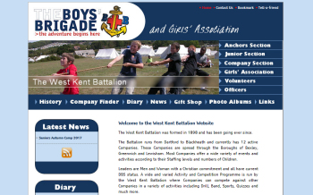 West Kent Battalion Boys Brigade