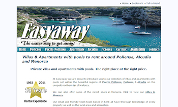 Easyaway - Holiday villas to Menorca and Pollensa