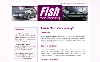 Photo: New website and toolkit for Fish Car Leasing
