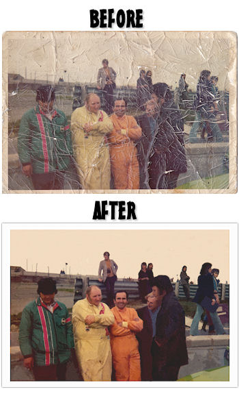 Photo: Colour photo restoration