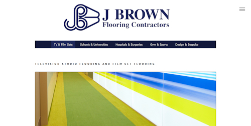 Photo: New HTML5/CSS3 website for J Brown Flooring