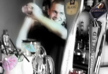 portrait - Cool bar man at Drayman