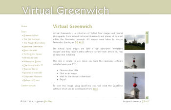 Photo: New look for Virtual Greenwich